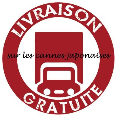 livraison gratuite pour toute canne japonaise achetée